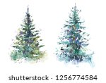 Decorated Christmas Tree New...