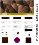 dark multicolor vector design...