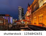 tampere  finland 12.12.2018  on ... | Shutterstock . vector #1256842651