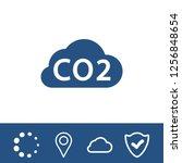 vector cloud computing download ... | Shutterstock .eps vector #1256848654