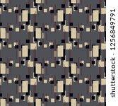 abstract geometry... | Shutterstock . vector #1256849791