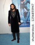 jason momoa at the los angeles... | Shutterstock . vector #1256855947