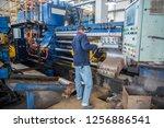 mechanical equipment and... | Shutterstock . vector #1256886541
