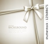elegant background with white... | Shutterstock .eps vector #125688671