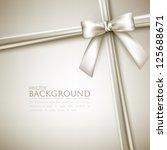 elegant background with white... | Shutterstock .eps vector #125688671