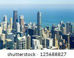 chicago downtown | Shutterstock . vector #125688827
