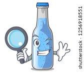 detective soda water bottle... | Shutterstock .eps vector #1256918551