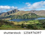 glanmore lake  along the ring... | Shutterstock . vector #1256976397