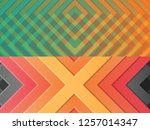 modern design web pages set of... | Shutterstock . vector #1257014347