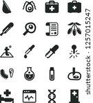 solid black vector icon set  ... | Shutterstock .eps vector #1257015247