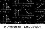 retro education and scientific... | Shutterstock .eps vector #1257084004