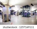 paris  france   october 4  2016 ...   Shutterstock . vector #1257169111
