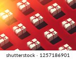 merry christmas and happy new... | Shutterstock . vector #1257186901