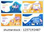seo optimization increase of... | Shutterstock .eps vector #1257192487