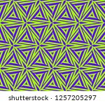 abstract repeat backdrop.... | Shutterstock .eps vector #1257205297