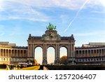 brussels  belgium  november 04... | Shutterstock . vector #1257206407