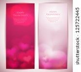 valentine's day vector... | Shutterstock .eps vector #125722445