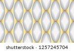 luxury seamless pattern. 3d... | Shutterstock . vector #1257245704
