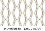 luxury seamless pattern. white... | Shutterstock . vector #1257245707