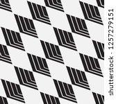 vector seamless pattern.... | Shutterstock .eps vector #1257279151