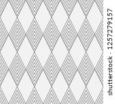 vector seamless pattern.... | Shutterstock .eps vector #1257279157