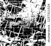 grunge background black and... | Shutterstock .eps vector #1257311524