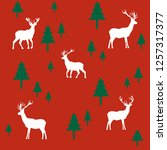 wallpaper with a pattern of...   Shutterstock .eps vector #1257317377