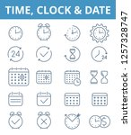 the clock  watch  time vector... | Shutterstock .eps vector #1257328747