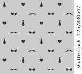 seamless vector pattern with... | Shutterstock .eps vector #1257330547