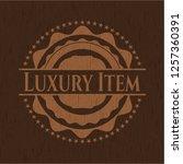luxury item vintage wooden... | Shutterstock .eps vector #1257360391