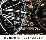 close up of magnesium alloy car ... | Shutterstock . vector #1257366364