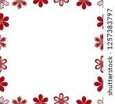 vector element template.... | Shutterstock .eps vector #1257383797