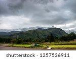 ben nevis  the highest mountain ... | Shutterstock . vector #1257536911