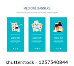 medicine design for web banners ...