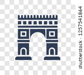 arc de triomphe icon. trendy... | Shutterstock .eps vector #1257541864