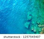 beautiful beach at fisherman... | Shutterstock . vector #1257545407