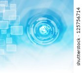 technology energy background ... | Shutterstock . vector #125756714