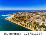 waterfront of port macquarie... | Shutterstock . vector #1257611137