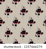 abstract geometry... | Shutterstock . vector #1257666274
