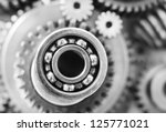 gears nuts and bolts | Shutterstock . vector #125771021
