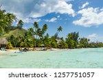 moorea island  french polynesia | Shutterstock . vector #1257751057