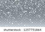 falling snow background.... | Shutterstock .eps vector #1257751864