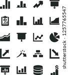 solid black vector icon set  ... | Shutterstock .eps vector #1257765547