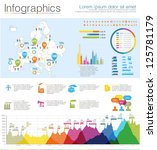 detail infographic vector... | Shutterstock .eps vector #125781179