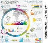 detail infographic vector... | Shutterstock .eps vector #125781194
