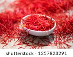 Pile Of Saffron With Small...