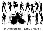 A Set Of Musicians  Rock Or Po...