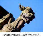 Gargoyle On The Exterior Of...