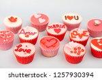 still life of multiple... | Shutterstock . vector #1257930394