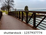 going for a walk in the park... | Shutterstock . vector #1257937774